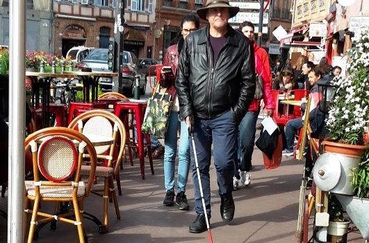 Apprentissage dans les rues de Toulouse, place Dupuy